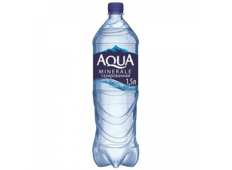 Вода газированная питьевая Aqua Minerale 1,5