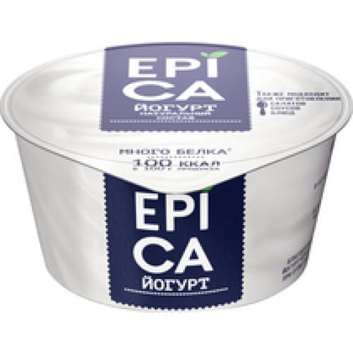 Йогурт натуральный Epica 6% 130 гр