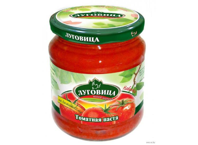 Томатная паста Луговица