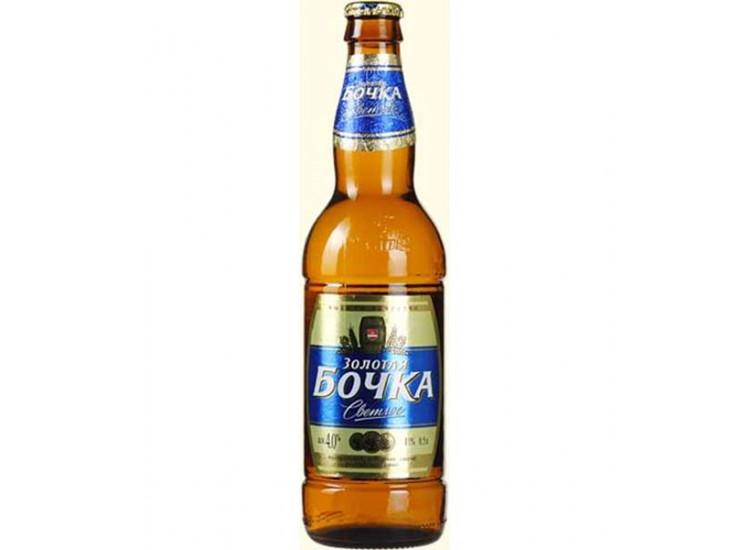Пиво Золотая бочка классическое светлое