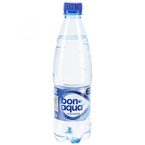 Вода газированная Bon Aqua 0,5 л